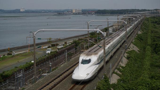 N700A のぞみ 東海道新幹線 浜松 豊橋
