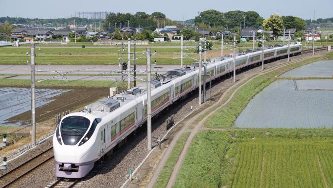 E657系 特急 ときわ 常磐線 赤塚 内原