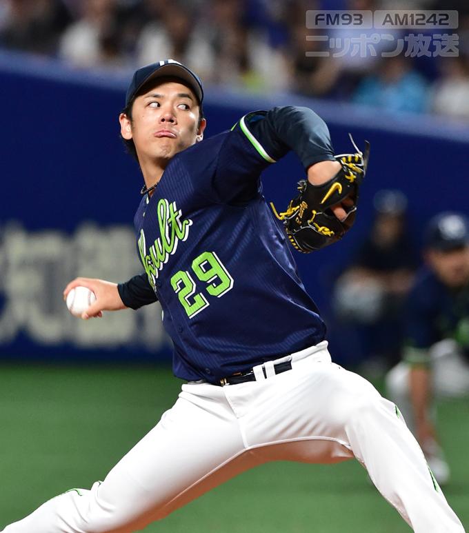 小川泰弘 プロ野球 中日 ヤクルト ナゴヤドーム