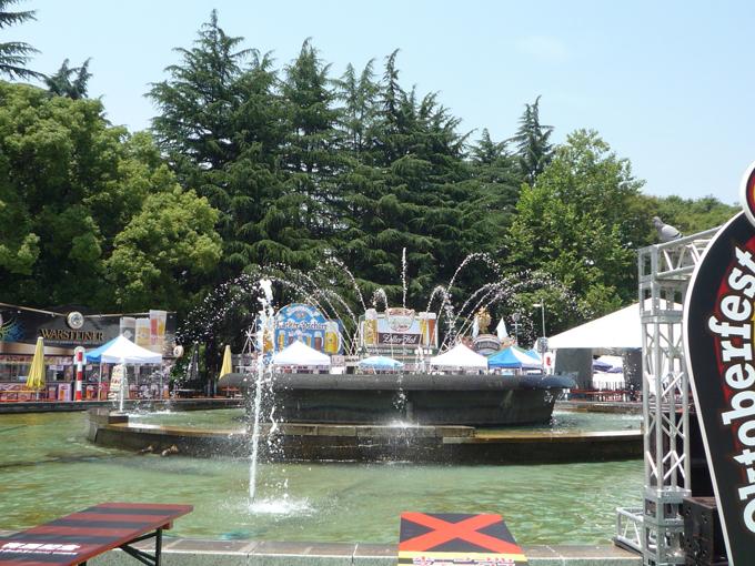 日比谷 公園 噴水 ビア イベント