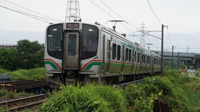 E721系 普通列車 東北本線 二本松 安達