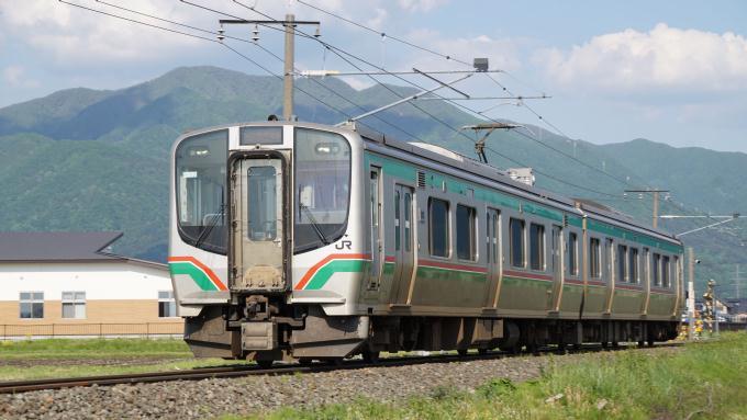 E721系 普通列車 磐越西線 猪苗代 翁島