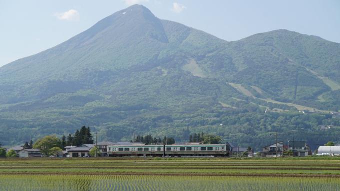 E721系 電車 磐越西線 翁島 猪苗代