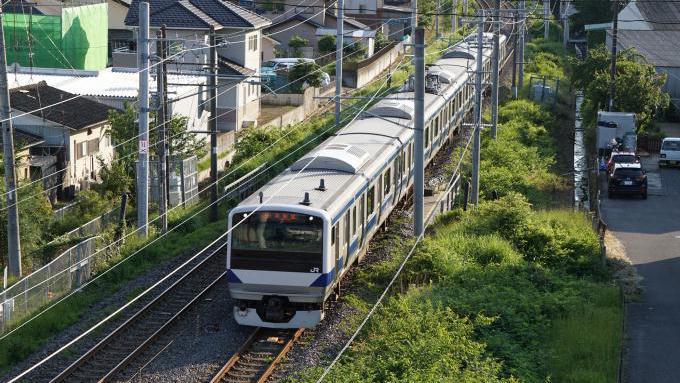E531系 普通列車 常磐線 内郷 いわき
