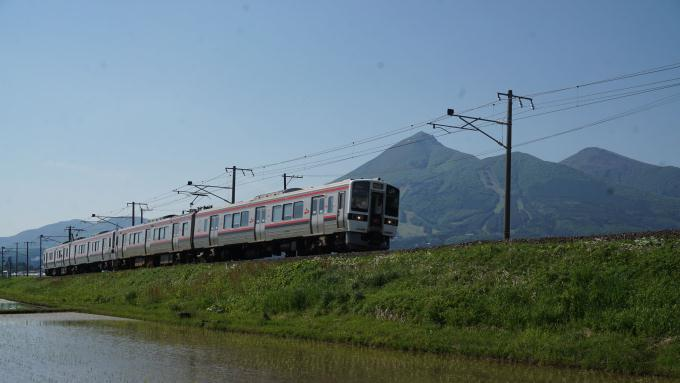 719系 電車 快速列車 磐越西線 猪苗代 川桁