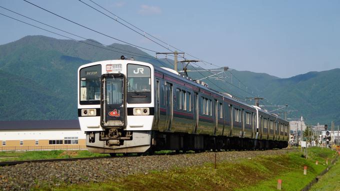 719系 電車 快速列車 磐越西線 猪苗代 翁島