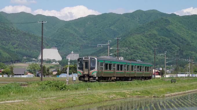 E721系 快速列車 磐越西線 川桁 猪苗代