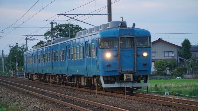 413系電車 あいの風とやま鉄道 東富山~富山間 413系 とやま鉄道