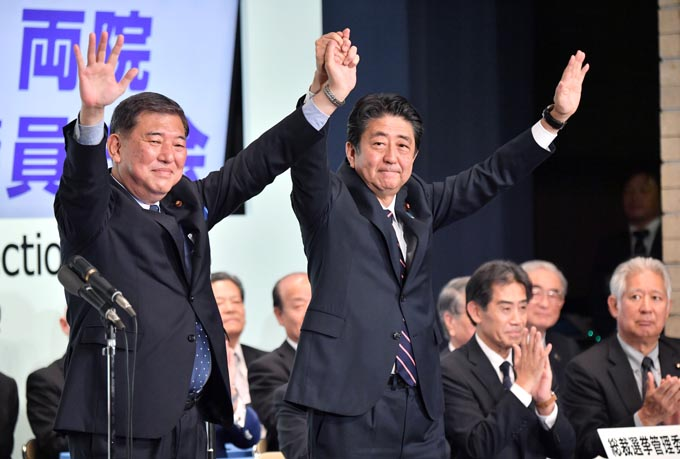 小泉進次郎 小泉 進次郎 安倍 石破 総裁選 自民党 選挙 党員票