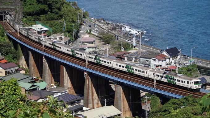 185系電車 特急 踊り子 東海道本線 早川~根府川間 弁当 駅弁