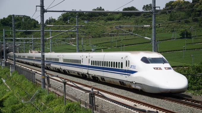 700系 3000番台 こだま 東海道新幹線 掛川~静岡間 駅弁