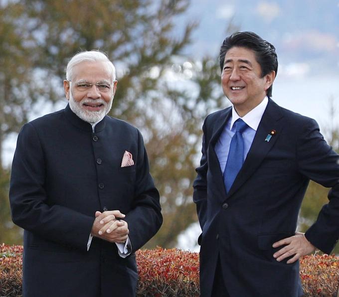 インド モディ首相 安倍 日印 首脳会談 岸信介 マンモハン シン インド太平洋