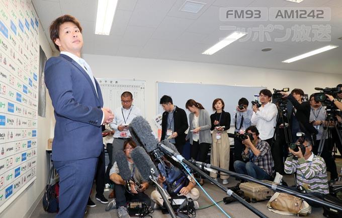 浅村栄斗 浅村 石井一久 石井GM プロ野球 FA移籍 FA 西武 楽天 20億