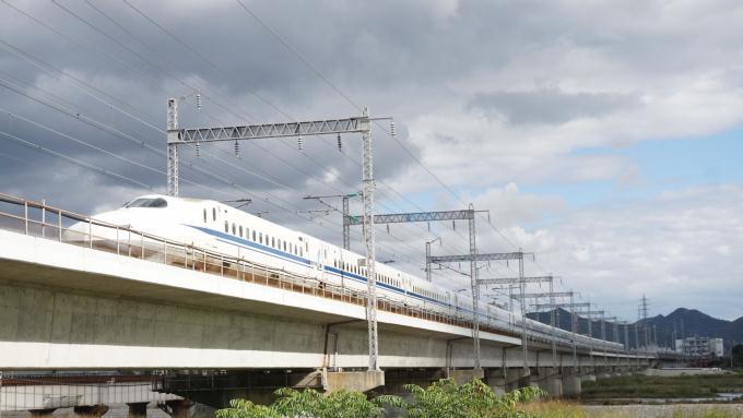 N700A のぞみ 山陽新幹線 西明石 姫路 弁当 駅弁 まねき130年記念弁当 えきそば