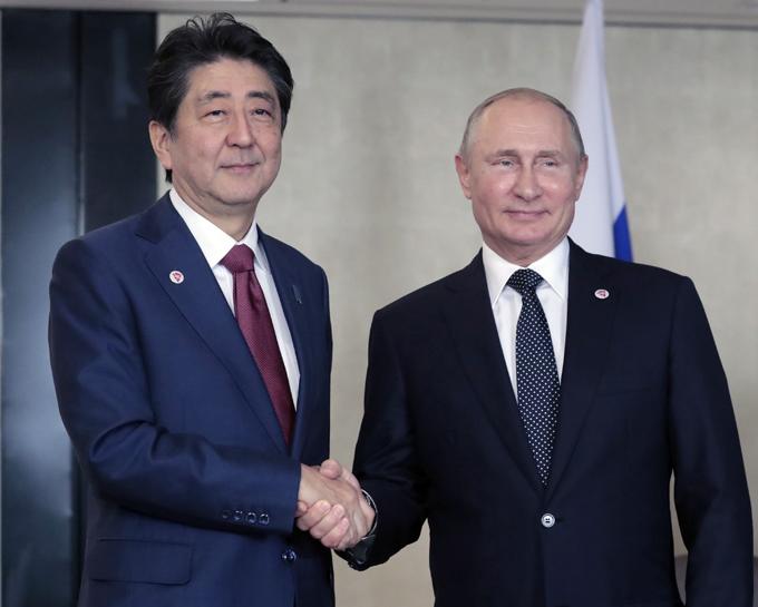谷内 安倍 北方領土 日露 日米 交渉 沖縄方式 ロシア プーチン トランプ アメリカ