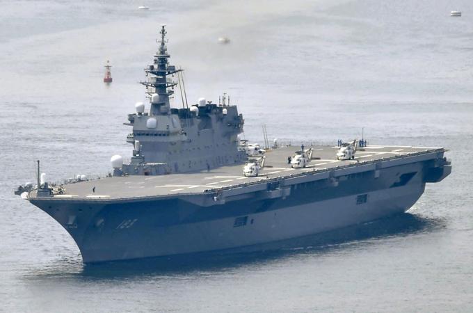 いずも 空母 航空母艦 安全保障 条約 アメリカ 中国 北朝鮮 空母化 軍事費