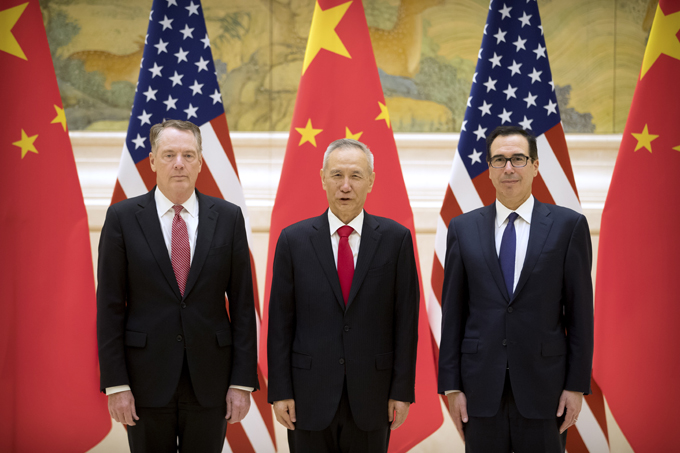 トランプ 中国 米中貿易協議 米中 貿易問題 貿易戦争 習近平 ライトハイザー 通商代表 劉鶴 副首相