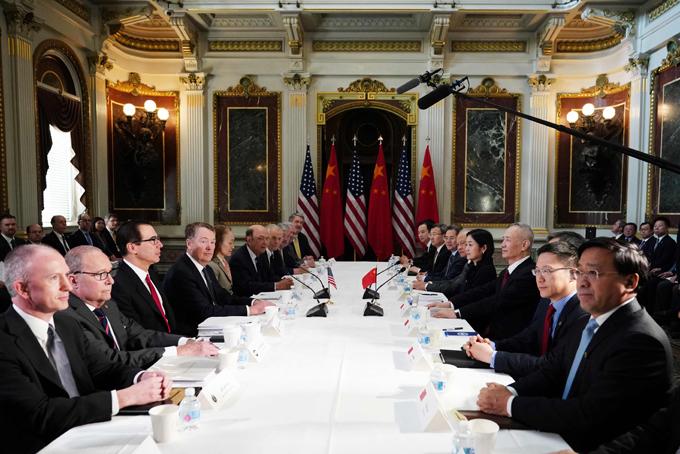 閣僚級協議 再開 米中 ライトハイザー 米通商代表 ムニューシン 米財務長官 中国 劉鶴副首相