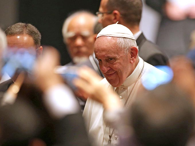 ローマ 法王 来 日 ミサ