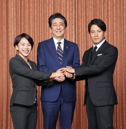 村上茉愛(体操選手)、安倍晋三内閣総理大臣、岡田准一(俳優)