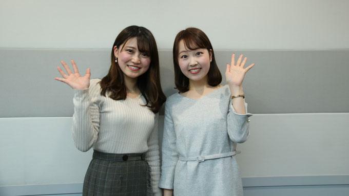 新人・前島花音アナが初めて明かす、同期・熊谷実帆アナに感謝した出来事