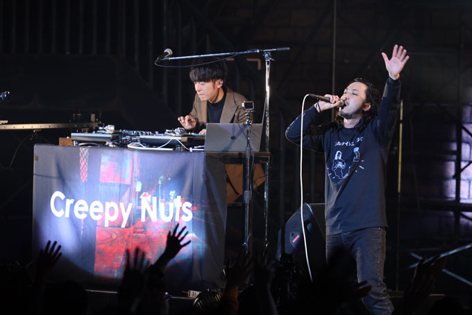 Creepy Nuts(DJ松永・R-指定)