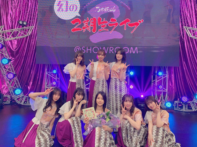 乃木坂46 幻の2期生ライブ@SHOWROOM