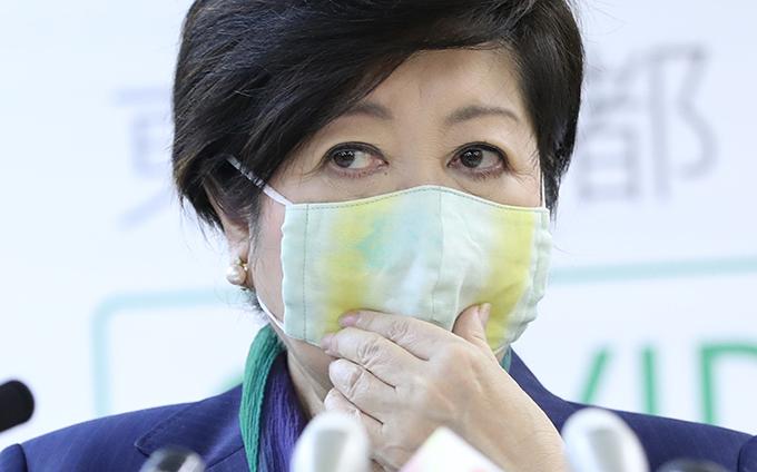 どこ の 小池百合子マスク 【5/8最新】小池百合子のグレーマスクの布やアップリケはどこで買える?|IRODORI