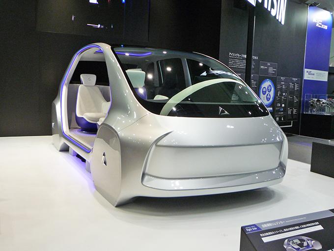 アイシングループはトヨタ系の自動運転技術を支える(2019年 東京モーターショーから)