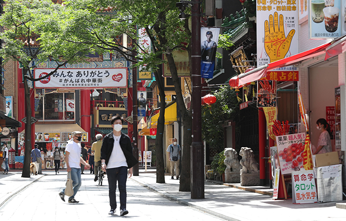 コロナ ウイルス 中華 街 影響 横浜