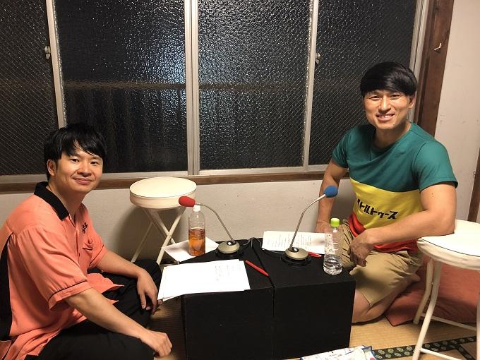 オードリー(2019年8月31日(土)『オードリーのオールナイトニッポン』むつみ荘から最後の生放送)