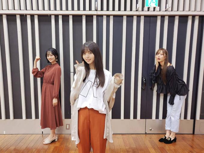 乃木坂46 山下美月、齋藤飛鳥、梅澤美波