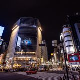 渋谷駅前の街頭ビジョン