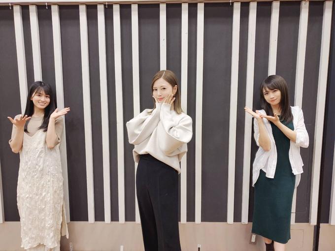 乃木坂46 大園桃子、白石麻衣、秋元真夏