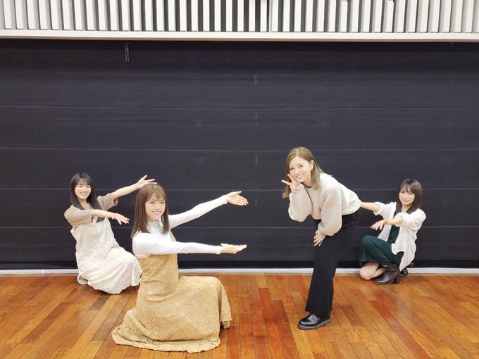 乃木坂46 大園桃子、松村沙友理、白石麻衣、秋元真夏