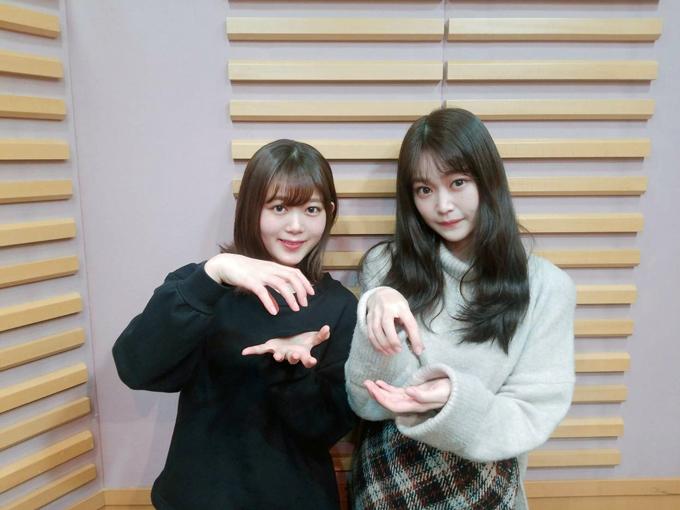 尾関梨香、石森虹花(2020年3月22日放送分)