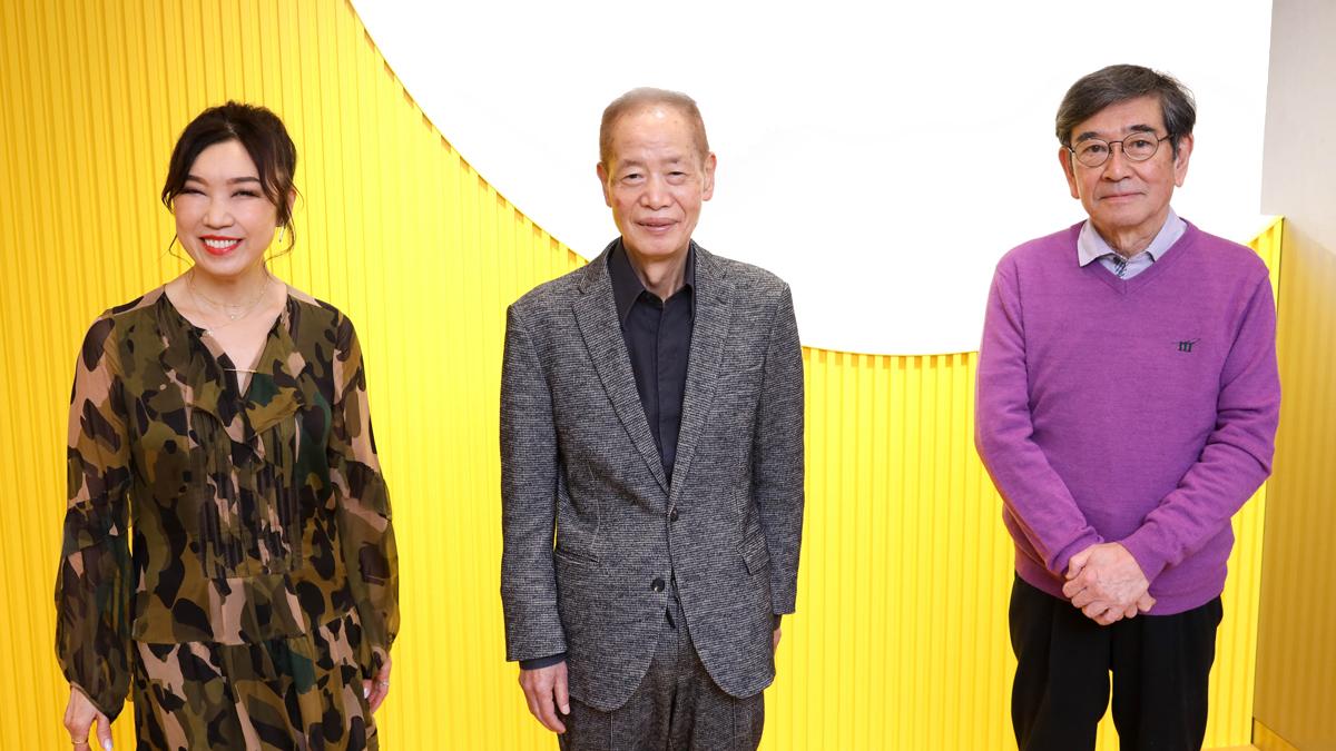 ユーミンと角川春樹監督・石坂浩二が生放送ラジオでスペシャル鼎談