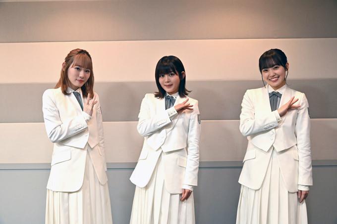 櫻坂46 小池美波、尾関梨香、松田里奈