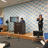 気象庁で2月14日未明に行われた緊急会見