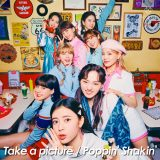 NiziU 2nd Single『Take a picture/Poppin' Shakin'』通常版
