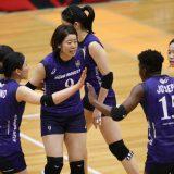 今季5位の成績を残した埼玉上尾 対岡山 第1セット