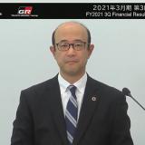 トヨタ自動車決算会見 近健太執行役員(オンライン画面から)
