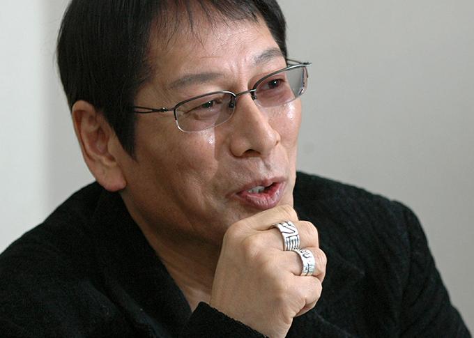 インタビュー 大杉漣・俳優=2006年12月7日 写真提供:産経新聞社