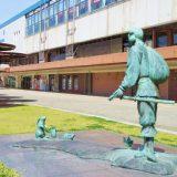 大国主命と白兎の像(鳥取駅南口)