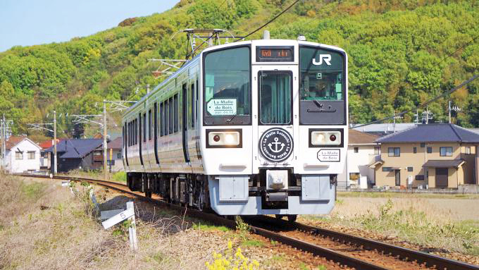 213系電車・快速「ラ・マルせとうち」、宇野線(宇野みなと線)・八浜~常山間
