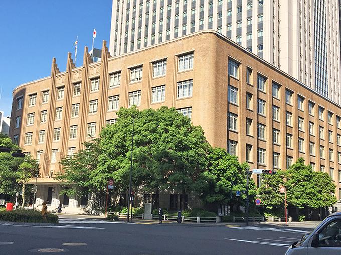 文化庁のある旧文部省庁舎