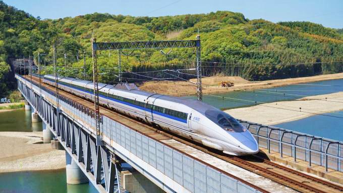 500系新幹線電車「こだま」、山陽新幹線・新倉敷~岡山間