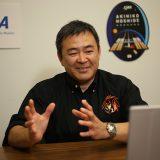 星出彰彦宇宙飛行士(2021年3月2日記者会見 JAXA提供)