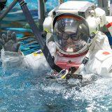 船外活動訓練に臨む星出彰彦さん(JAXA・NASA提供)