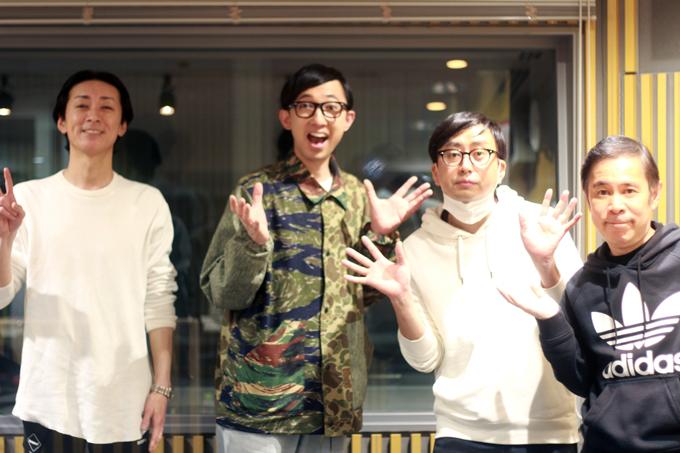 矢部浩之、おいでやすこが (こがけん、おいでやす小田)、岡村隆史